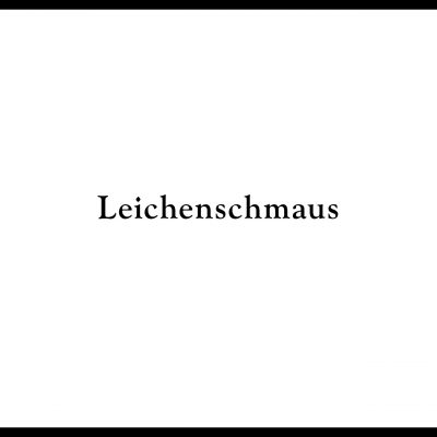 LEICHENSCHMAUS | by P.R. group | Till death to us part – Afterparty