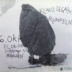 Noisy 13: Klaus Legal (FRA), Rumpeln (MUC)