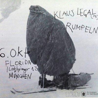 Noisy 13: Klaus Legal (FRA), Rumpeln (MUC)