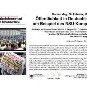 Öffentlichkeit in Deutschland am Beispiel des NSU-Komplex